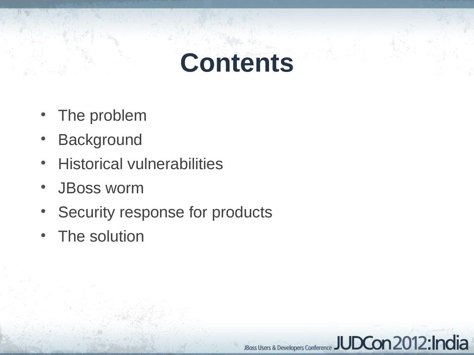 vulnerabilities JBoss worm