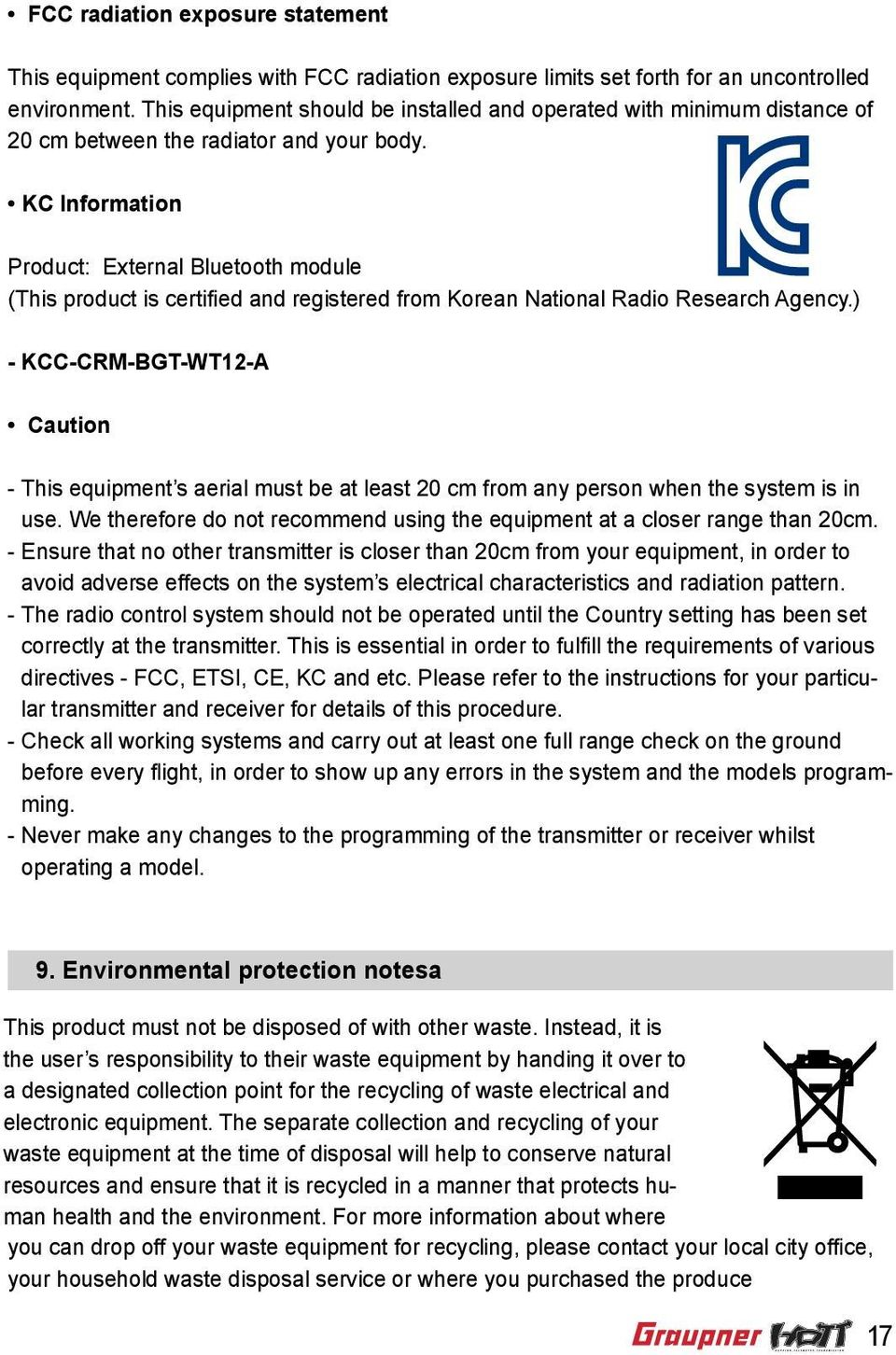 KC Information Product: External Bluetooth module (This product is certified and registered from Korean National Radio Research Agency.