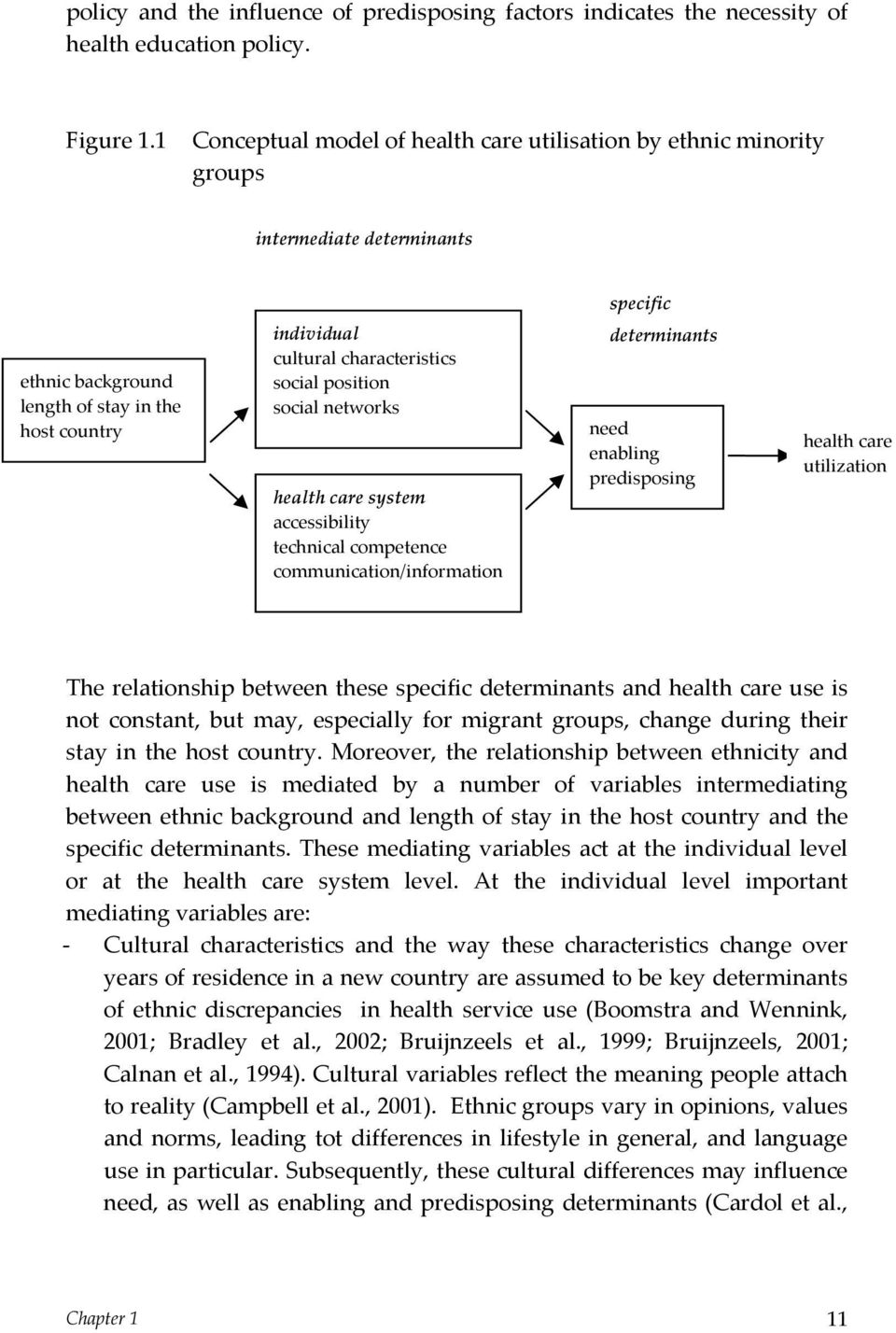 social position social networks health care system accessibility technical competence communication/information determinants need enabling predisposing health care utilization The relationship