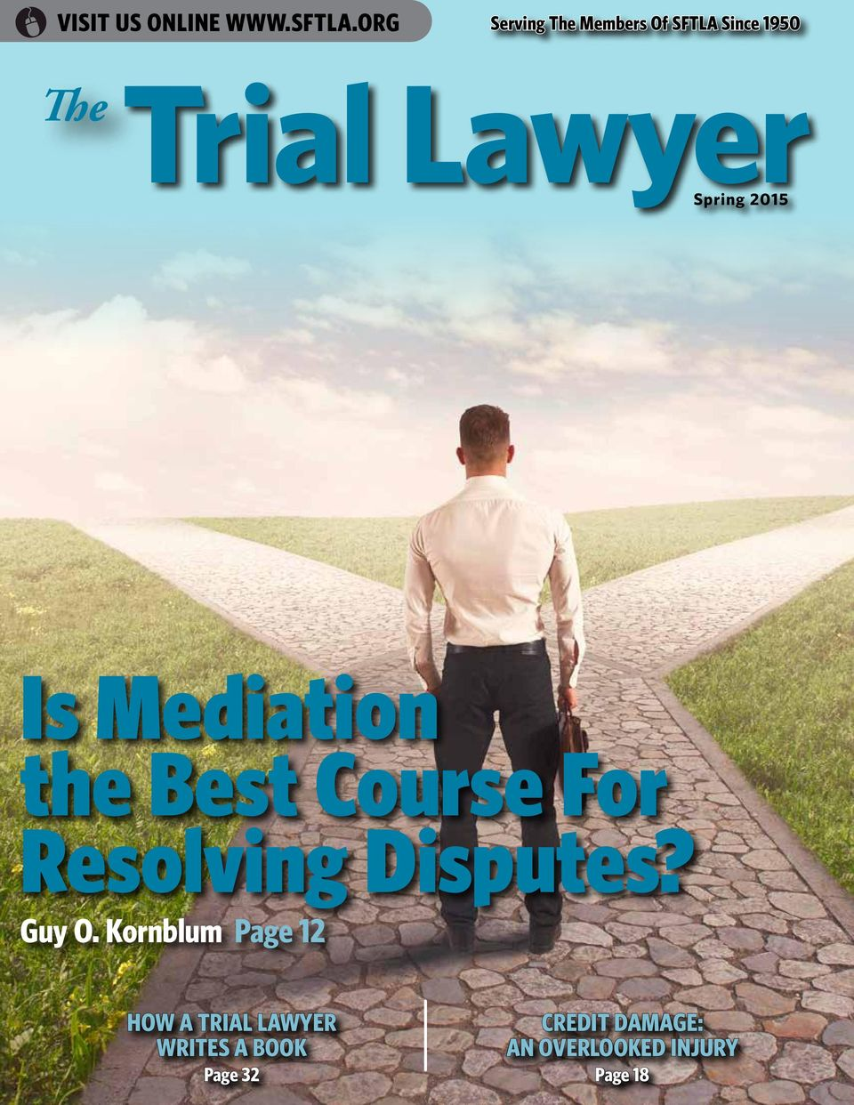 Spring 2015 Is Mediation the Best Course For Resolving Disputes?