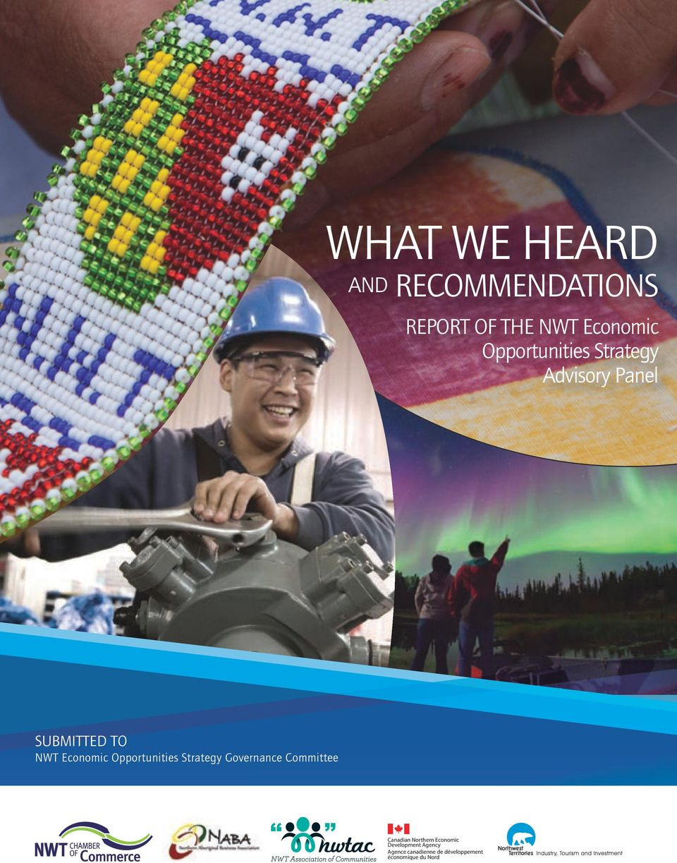 Opportunities Strategy Governance Committee Canadian Northern