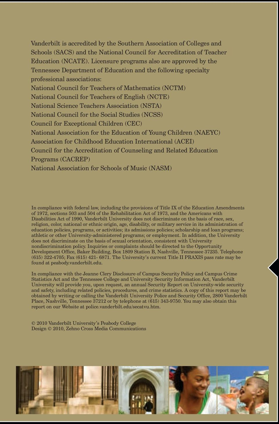 Council for Teachers of English (NCTE) National Science Teachers Association (NSTA) National Council for the Social Studies (NCSS) Council for Exceptional Children (CEC) National Association for the