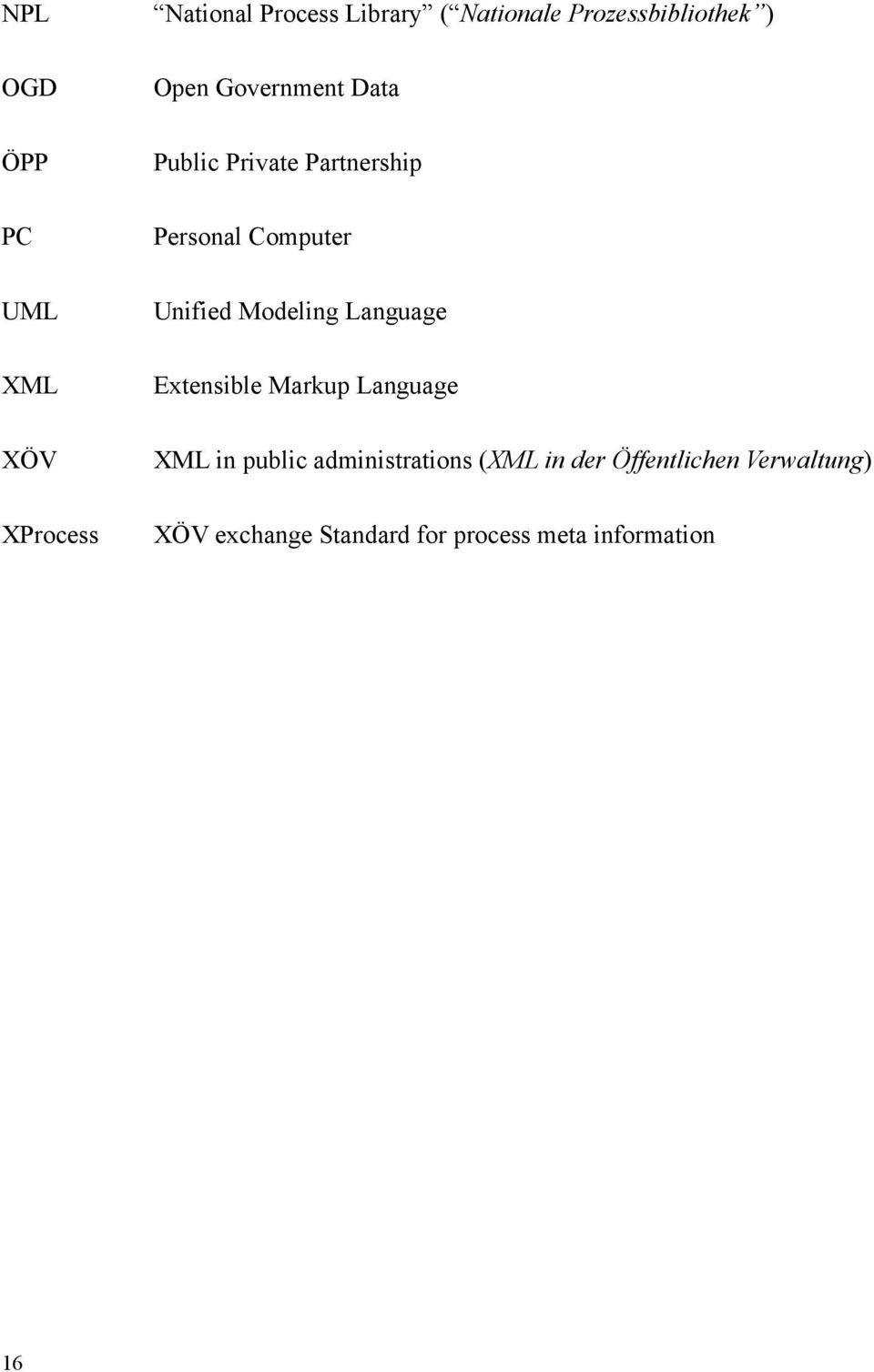 Computer Unified Modeling Language Extensible Markup Language XML in public