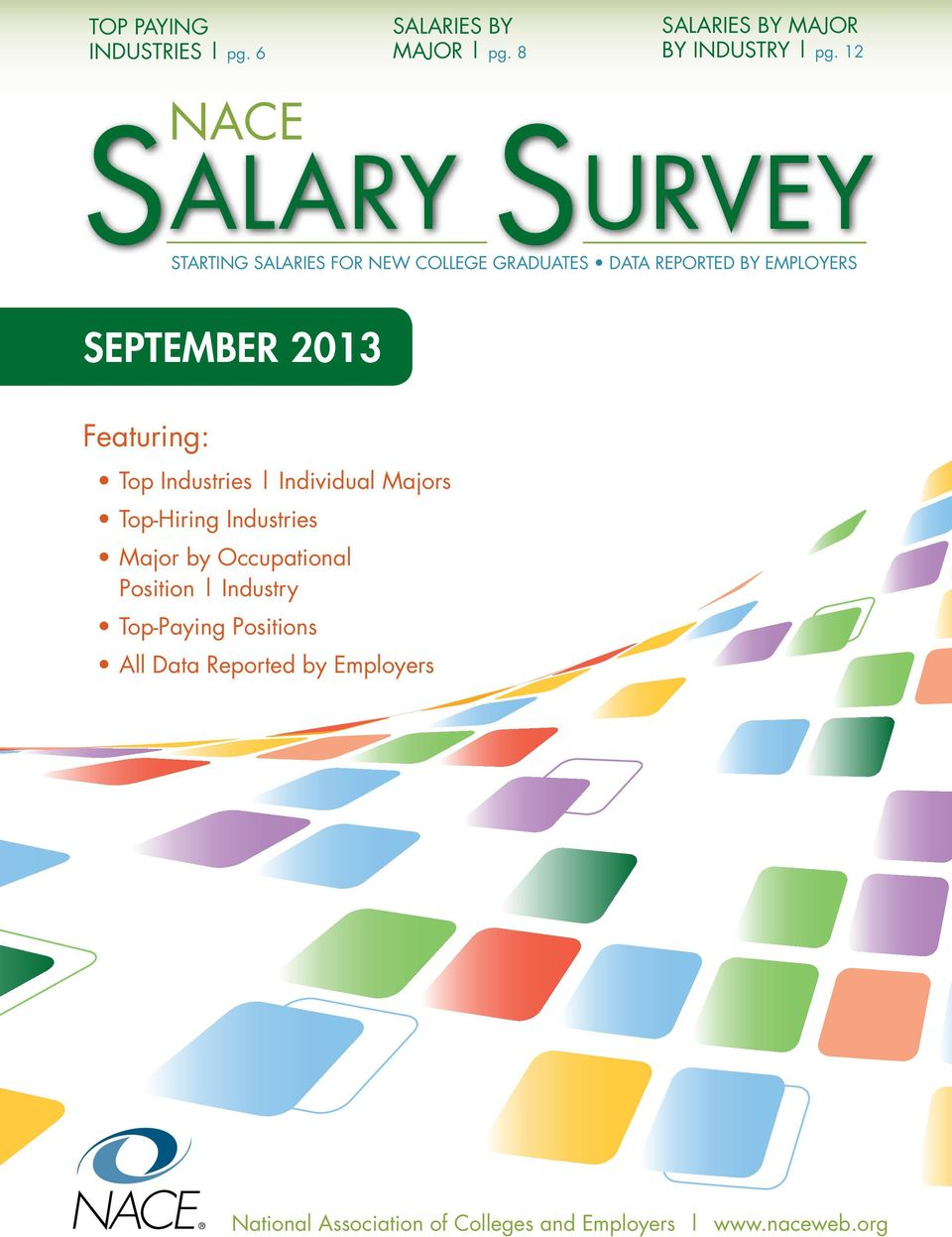 EMPLOYERS SEPTEMBER 2013 Featuring: Top Industries Individual Majors Top-Hiring