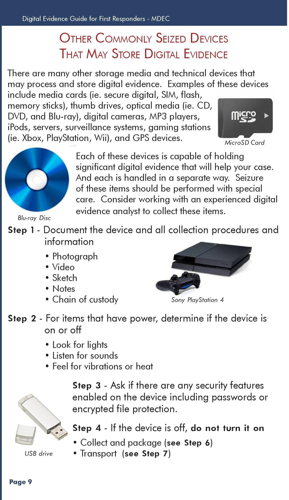 CD, DVD, and Blu-ray), digital cameras, MP3 players, ipods, servers, surveillance systems, gaming stations (ie. Xbox, PlayStation, Wii), and GPS devices.