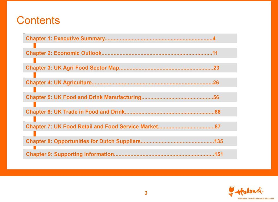 ..26 Chapter 5: UK Food and Drink Manufacturing...56 Chapter 6: UK Trade in Food and Drink.