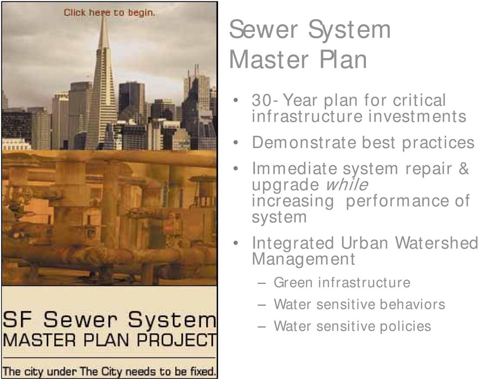 upgrade while increasing performance of system Integrated Urban