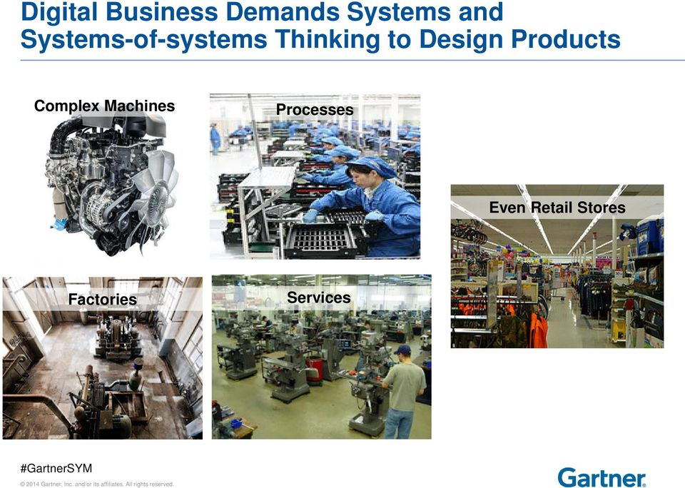 Design Products Complex Machines