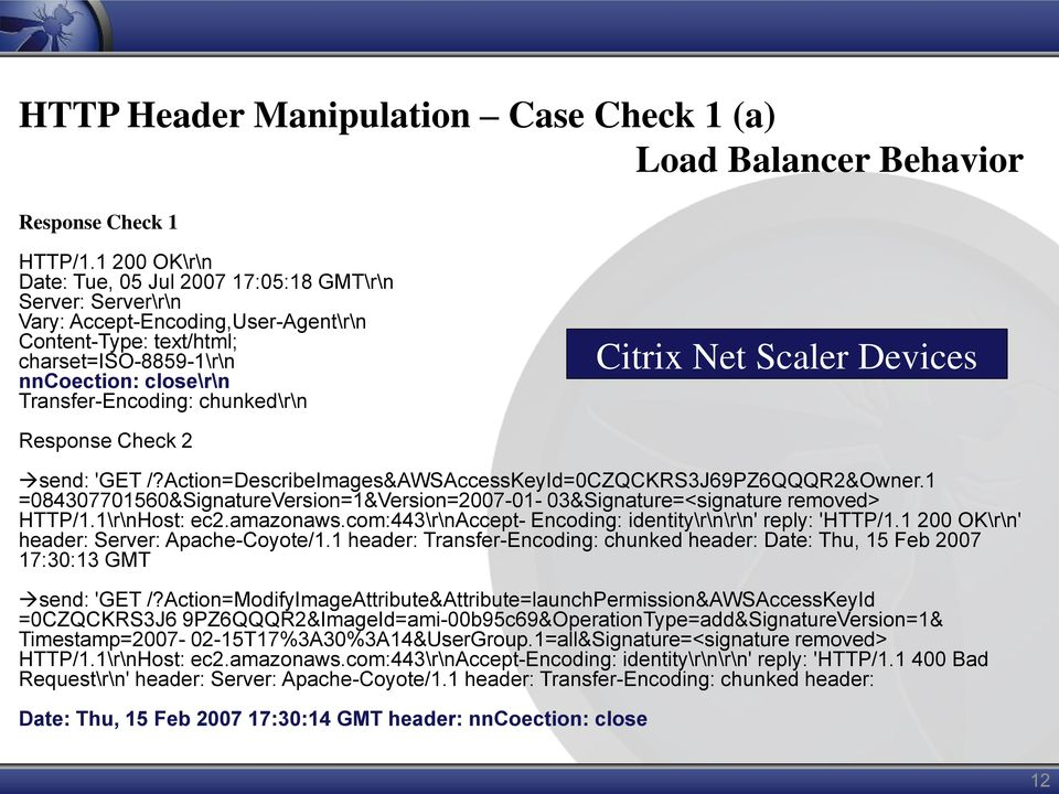chunked\r\n Citrix Net Scaler Devices Response Check 2 send: 'GET /?Action=DescribeImages&AWSAccessKeyId=0CZQCKRS3J69PZ6QQQR2&Owner.