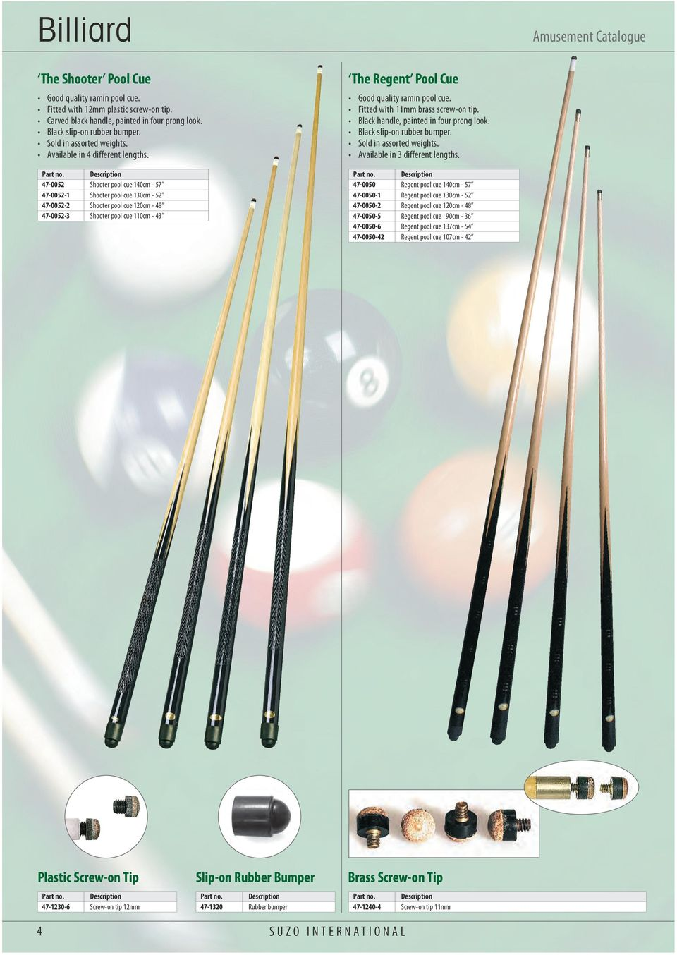 Aramith premier 2 50 8mm blue amp yellow pool ball set - 47 0052 Shooter Pool Cue 140cm 57 47 0052 1 Shooter Pool