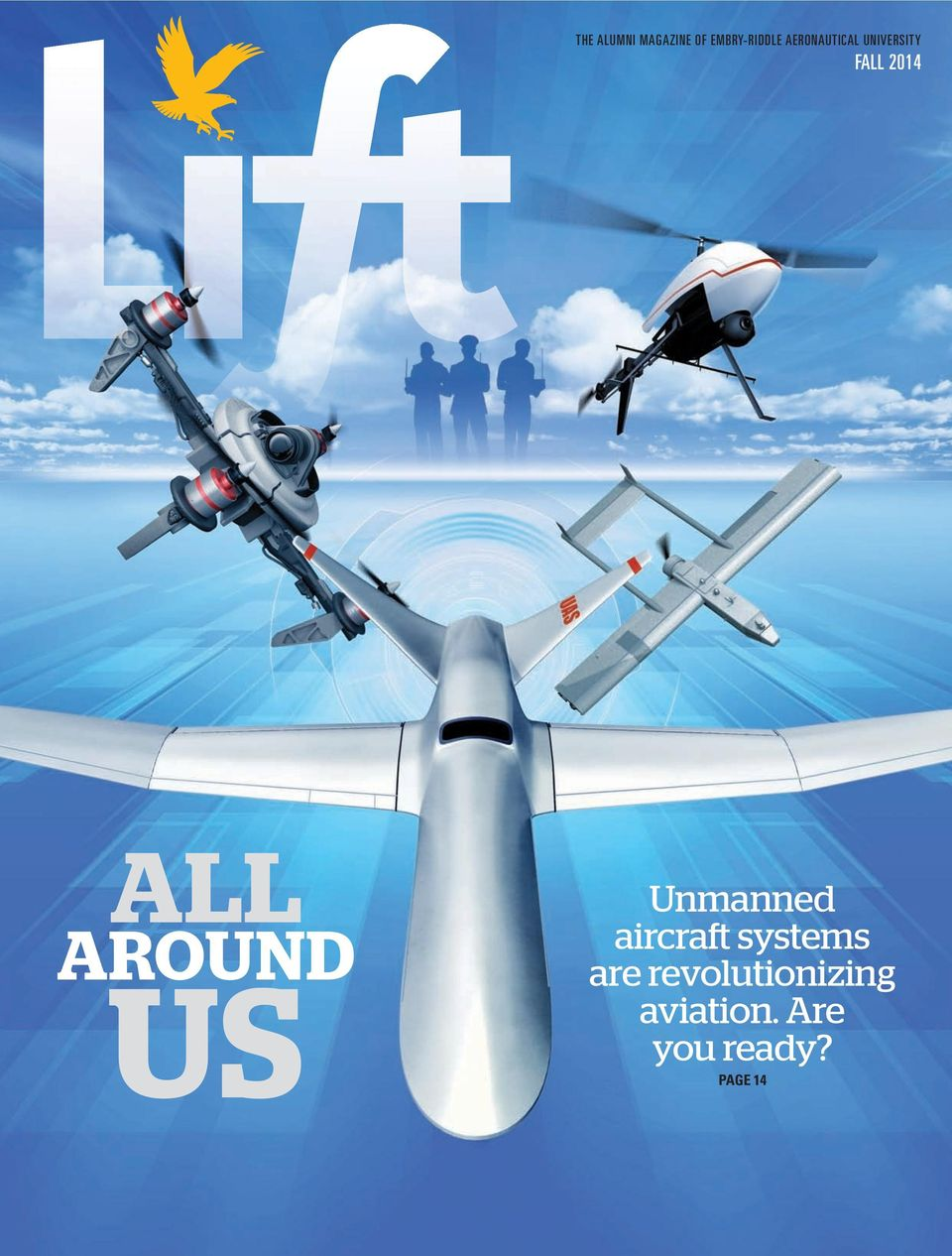 AROUND US Unmanned aircraft systems are
