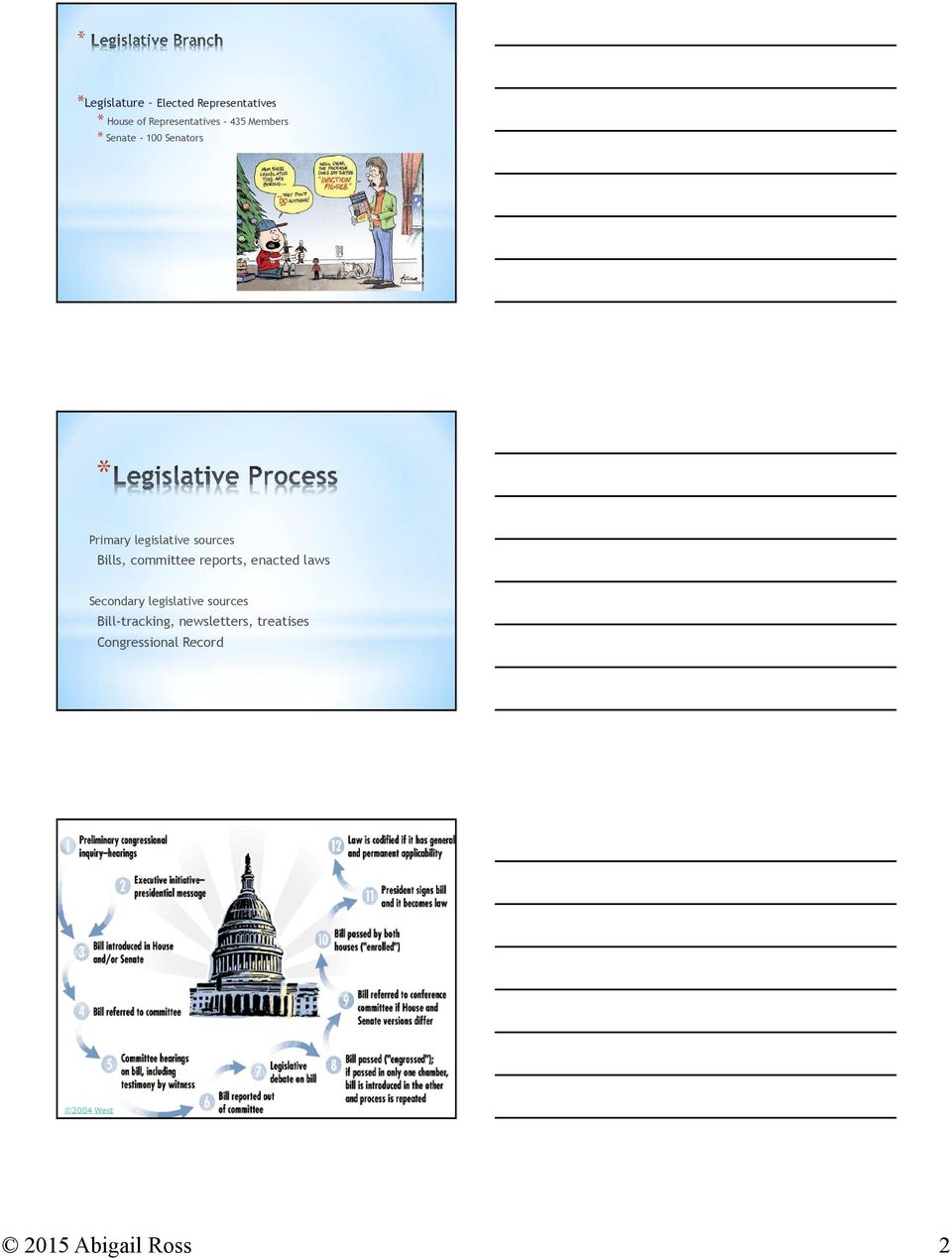 legislative sources Bill-tracking, newsletters, treatises Congressional Record See