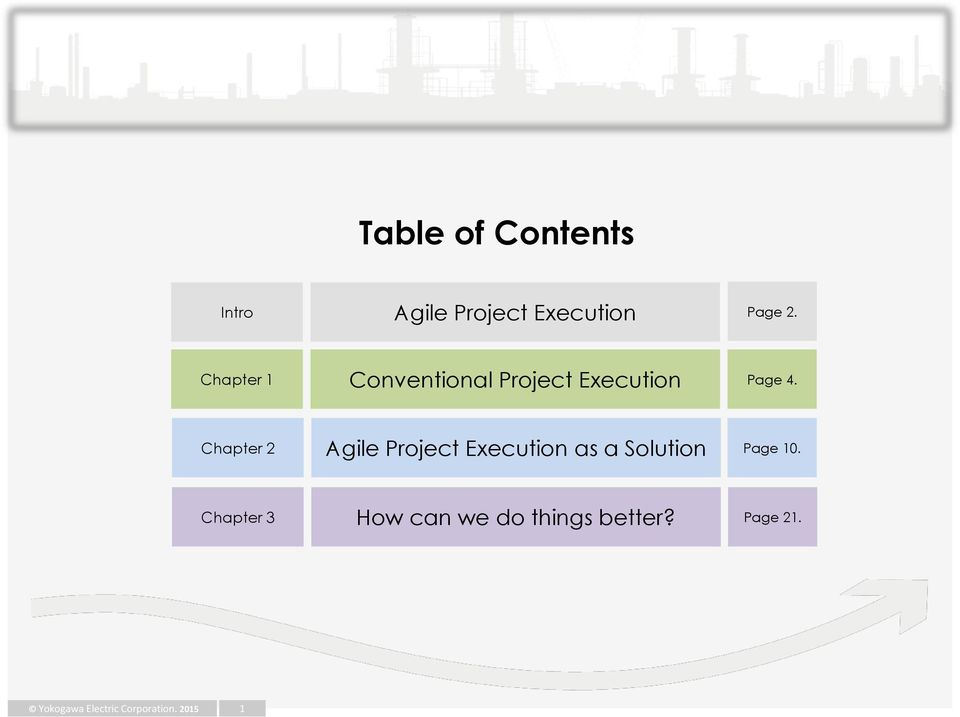 Chapter 2 Agile Project Execution as a Solution Page