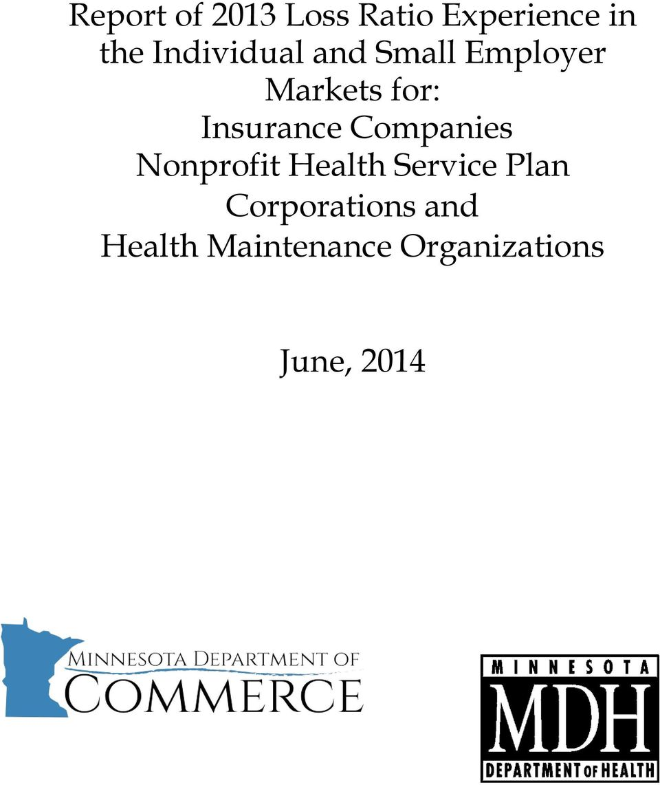Insurance Companies Nonprofit Health Service Plan