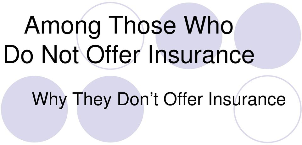 Insurance Why