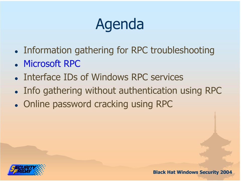 Windows RPC services Info gathering without
