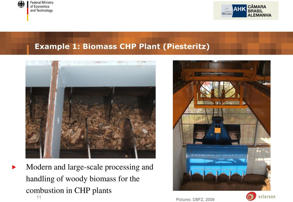 processing and handling of woody biomass