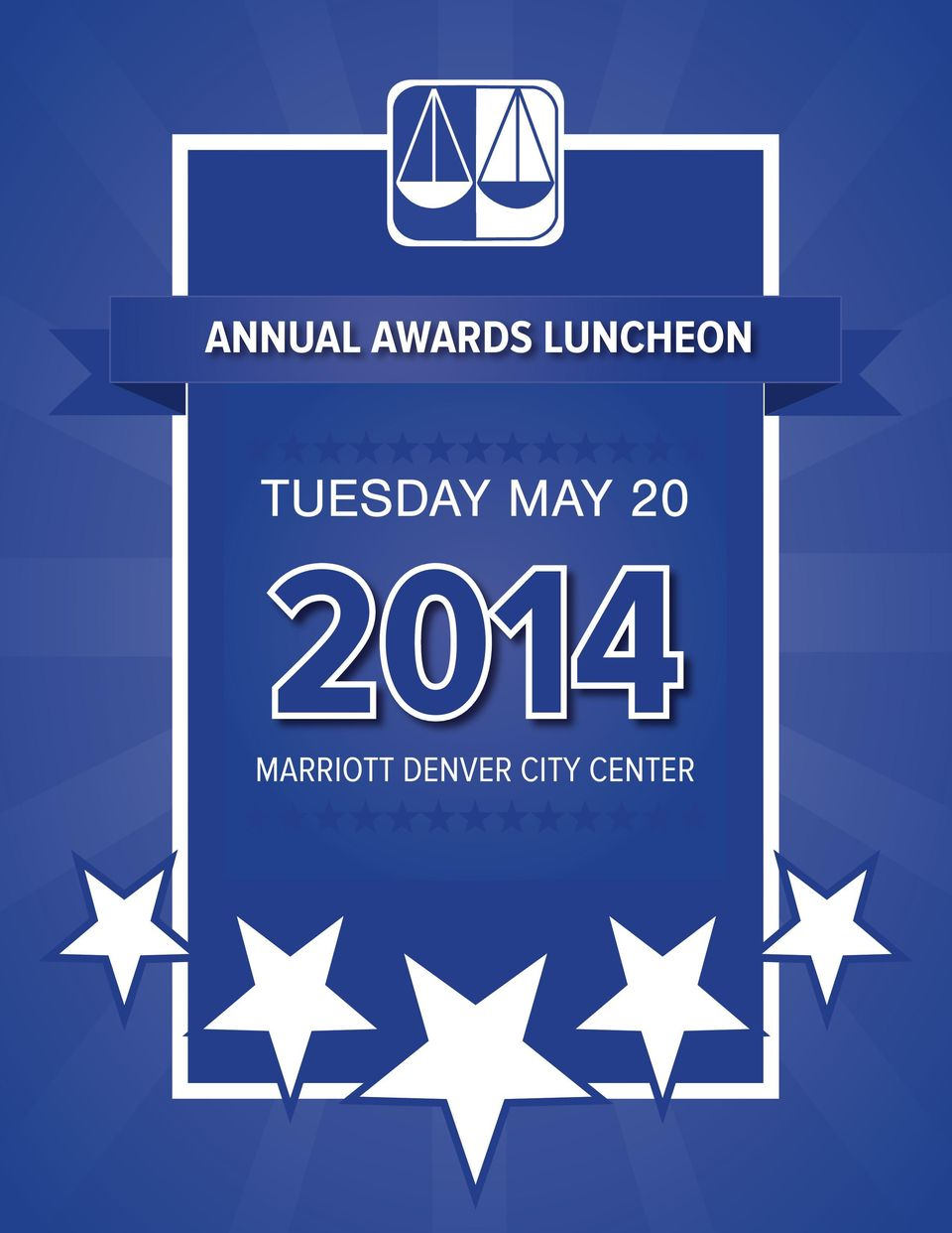 LUNCHEON TUESDAY MAY 20