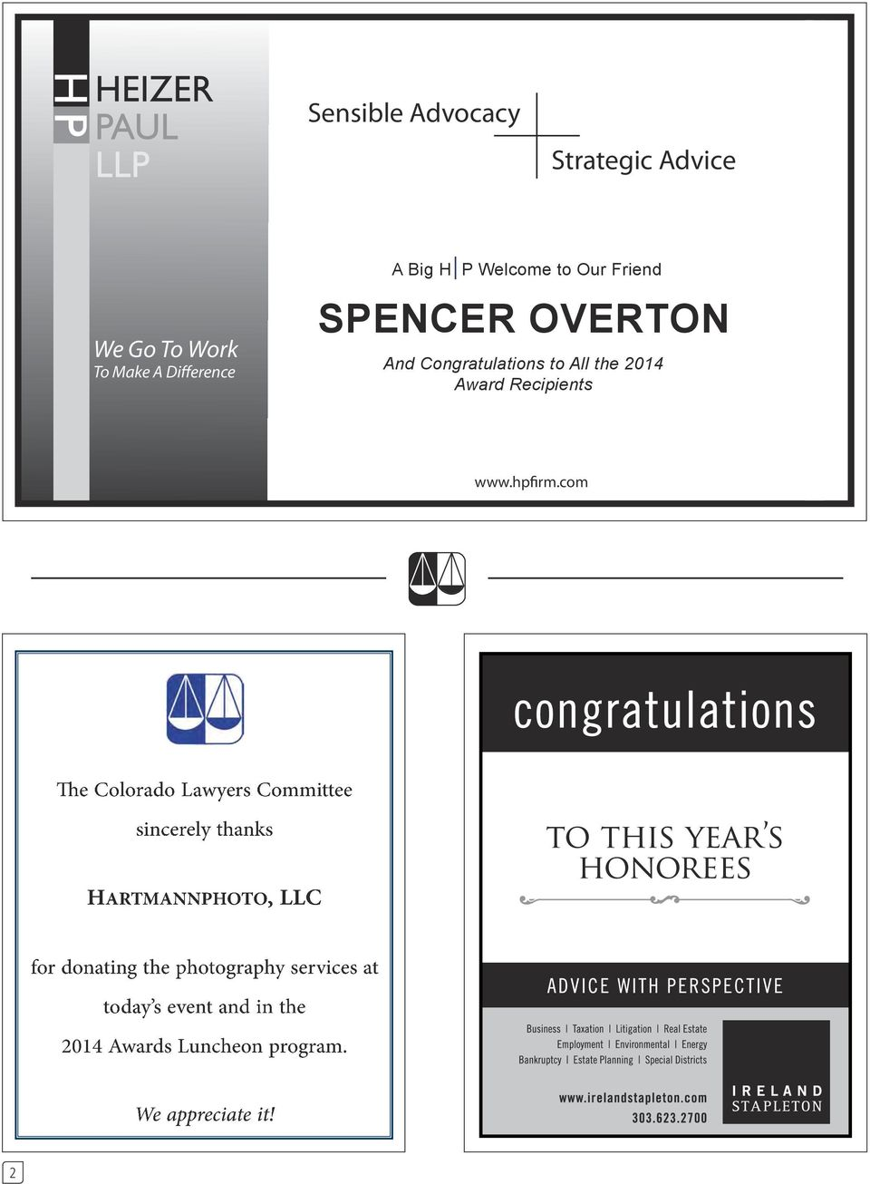 Our Friend SPENCER OVERTON And Congratulations