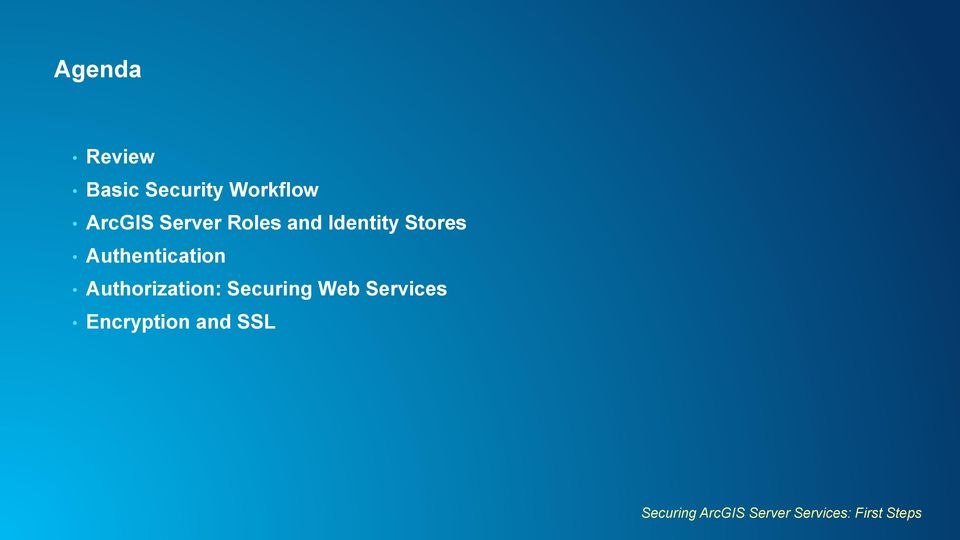Authorization: Securing Web Services Encryption