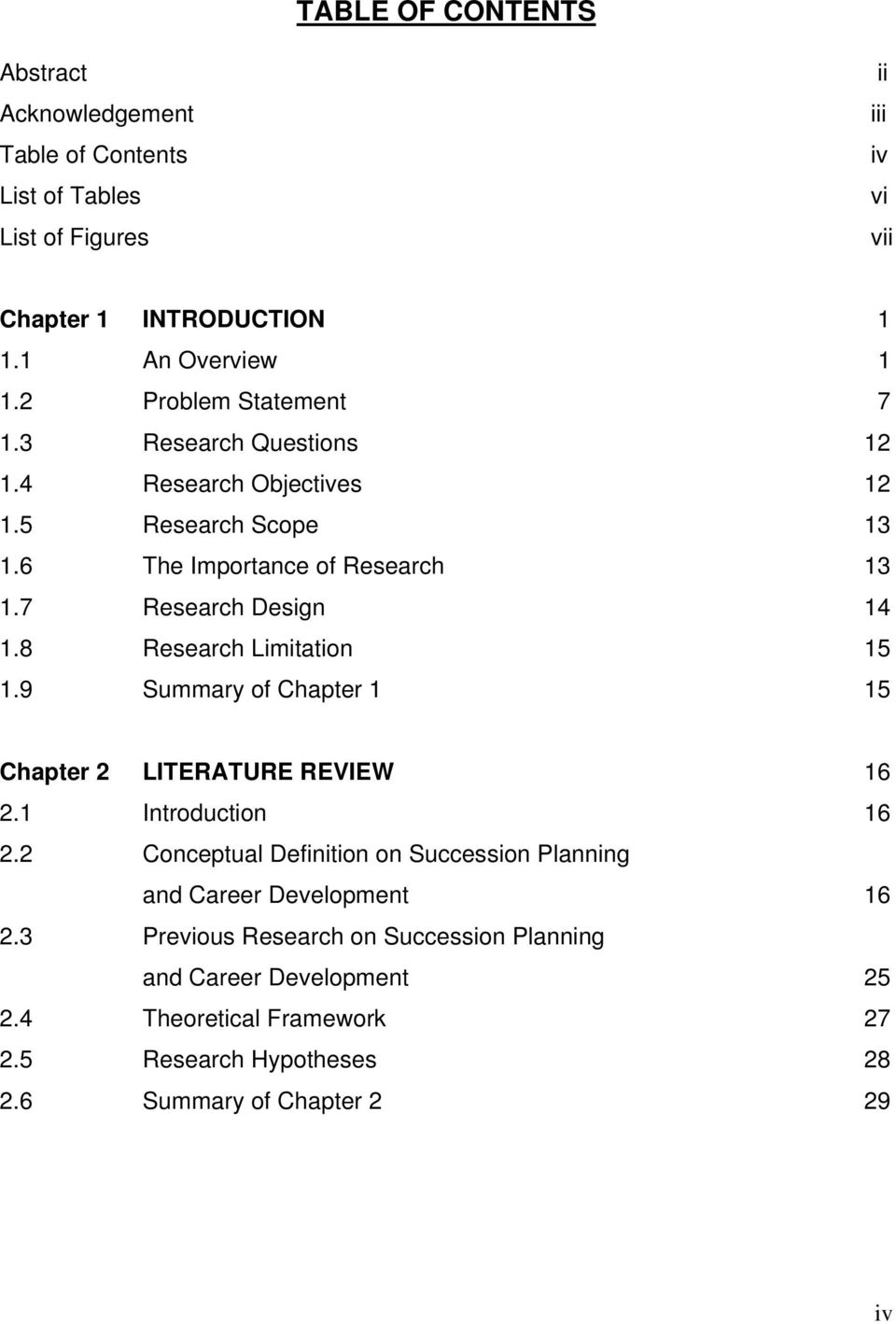 8 Research Limitation 15 1.9 Summary of Chapter 1 15 Chapter 2 LITERATURE REVIEW 16 2.1 Introduction 16 2.
