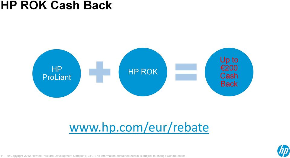 hp.com/eur/rebate Familiarise yourself with the qualifying