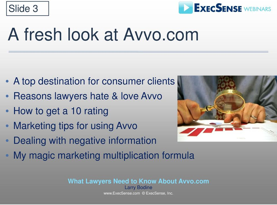 hate & love Avvo How to get a 10 rating Marketing tips for