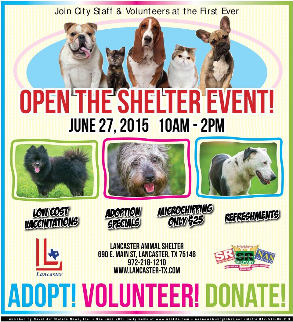 microchipping only $25 refreshments lancaster animal shelter 690 e.