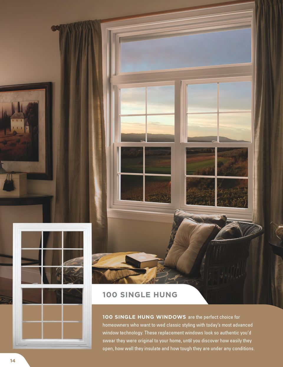 These replacement windows look so authentic you d swear they were original to your home,