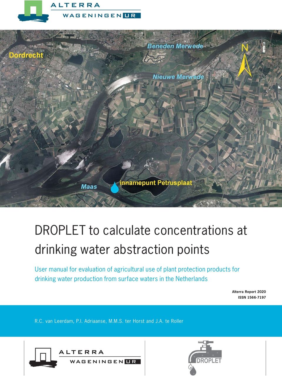 drinking water production from surface waters in the Netherlands Alterra Report