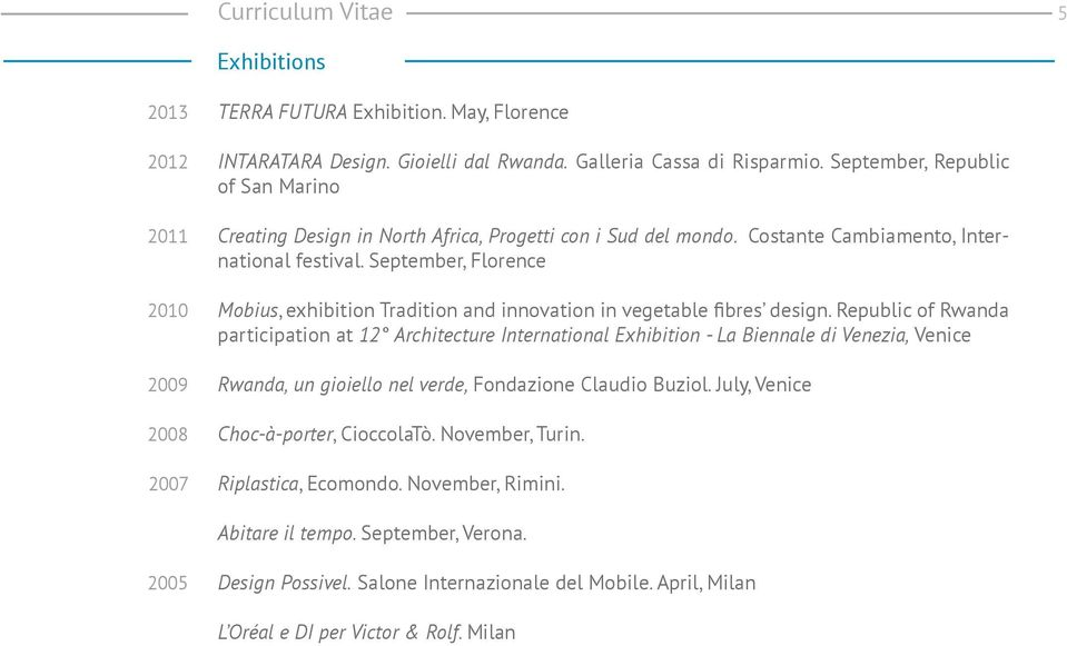 September, Florence Mobius, exhibition Tradition and innovation in vegetable fibres design.