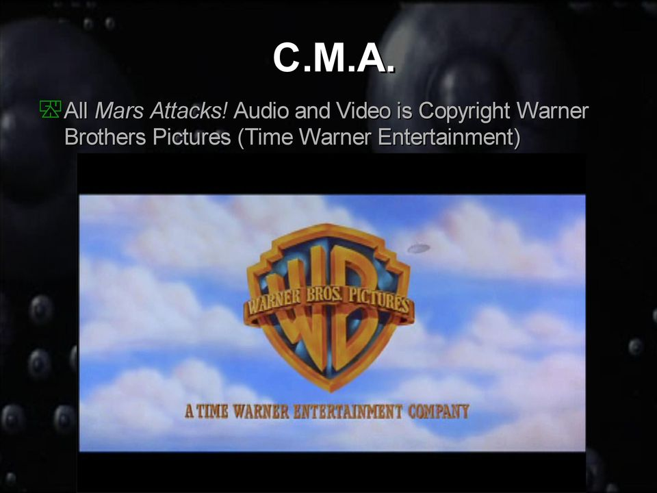 Copyright Warner Brothers