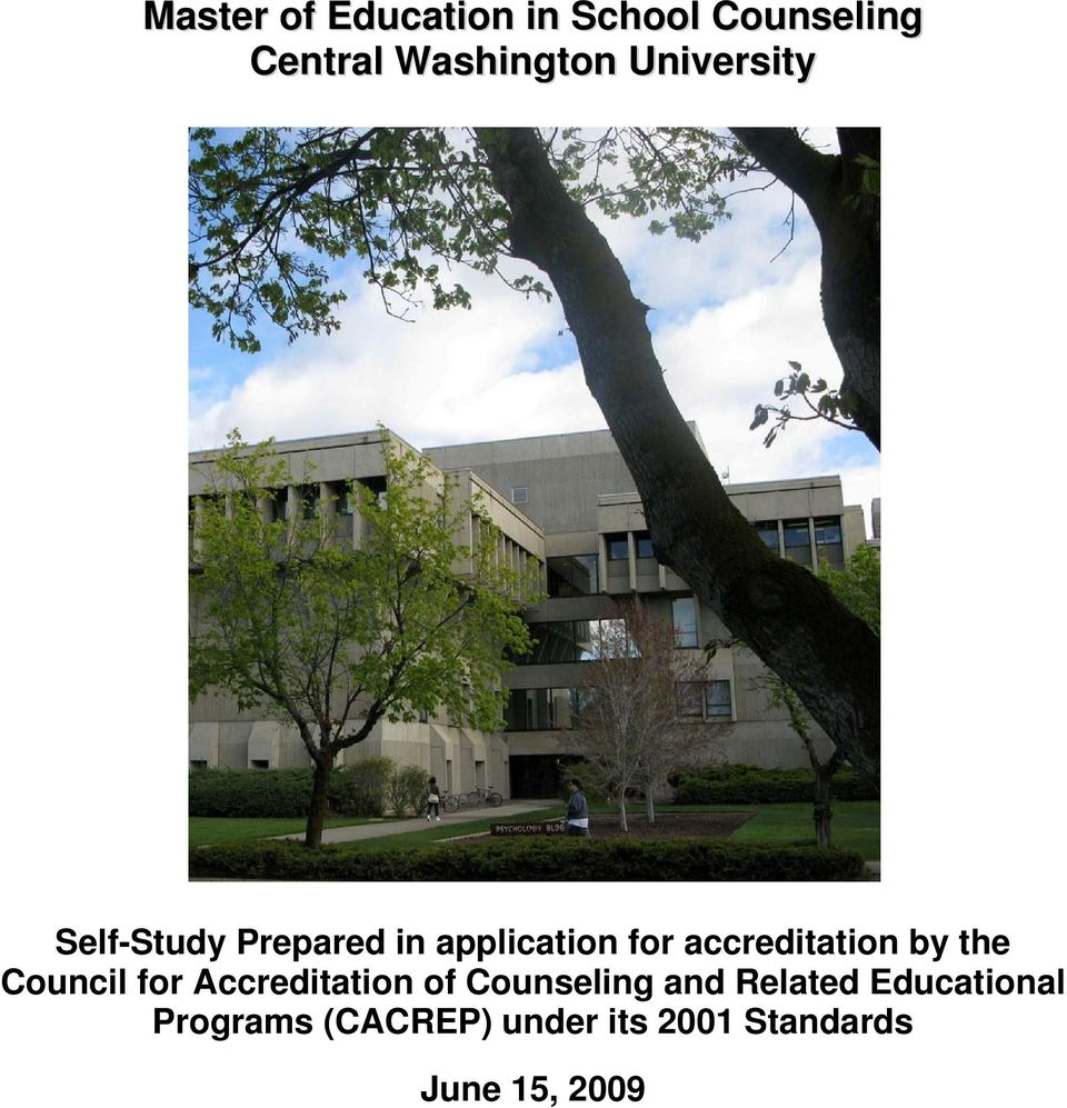 Council for Accreditation of Counseling and Related