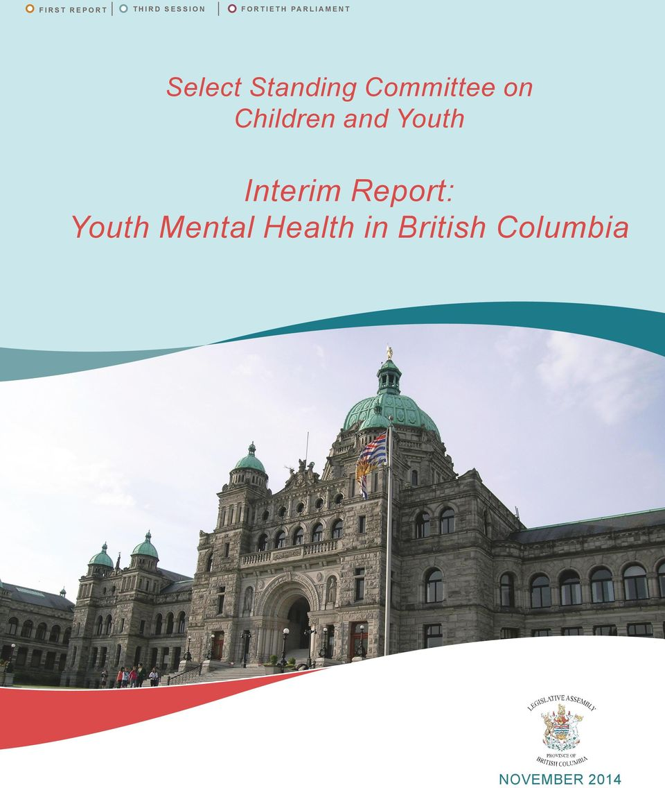 Children and Youth Interim Report: Youth