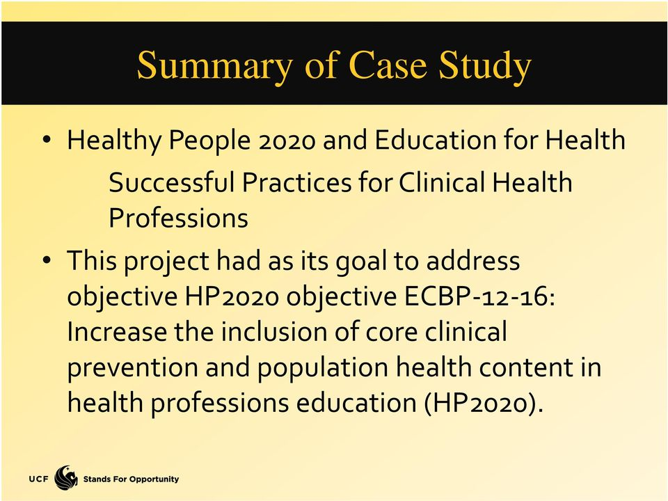 address objective HP2020 objective ECBP 12 16: Increase the inclusion of core