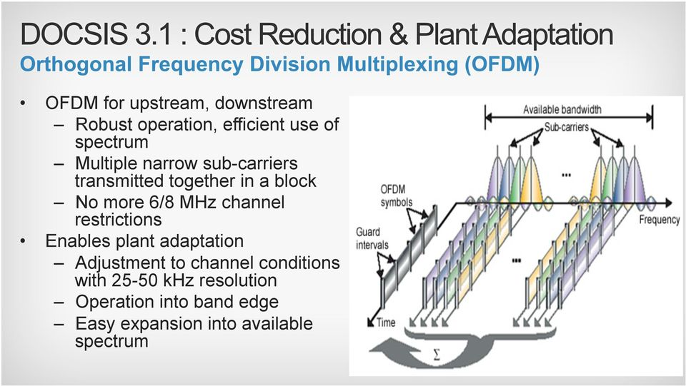 restrictions Enables plant adaptation Adjustment to channel conditions with