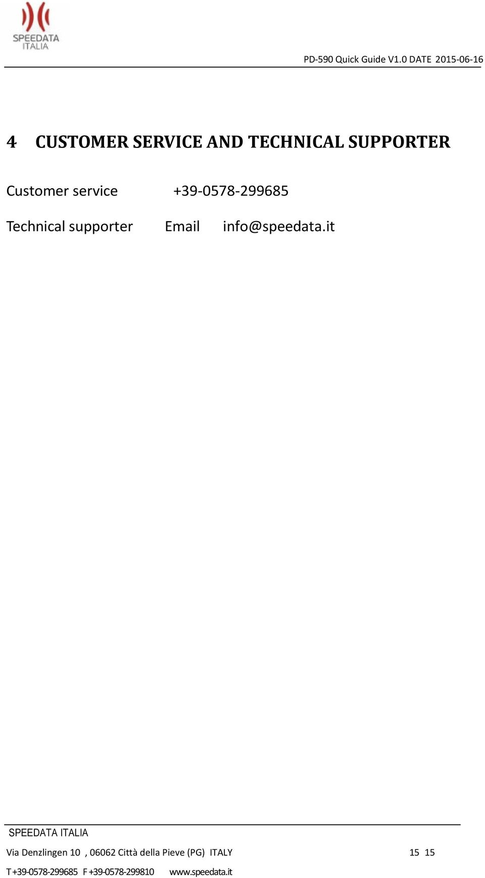 supporter Email info@speedata.