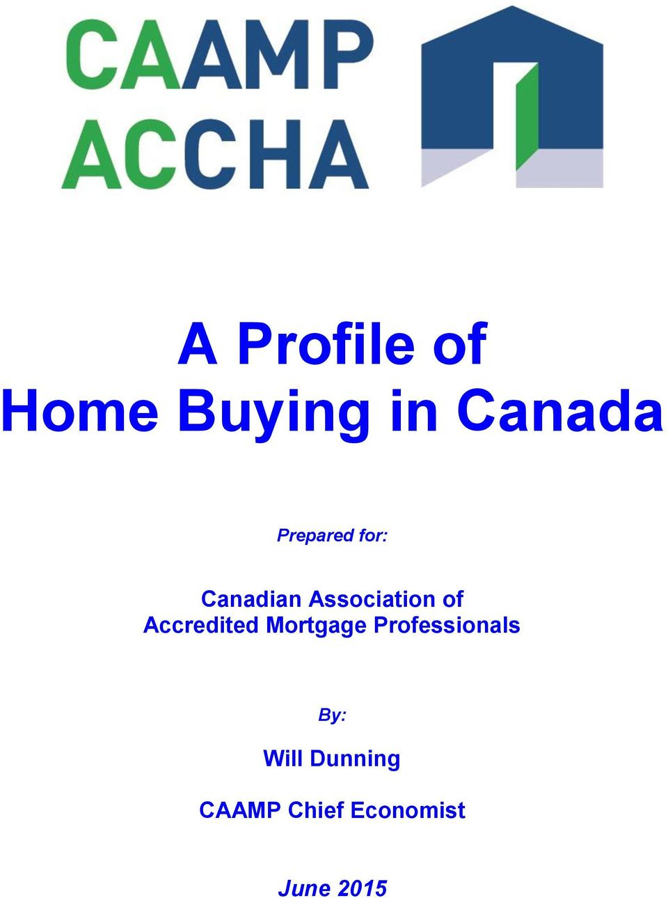 Accredited Mortgage Professionals By: