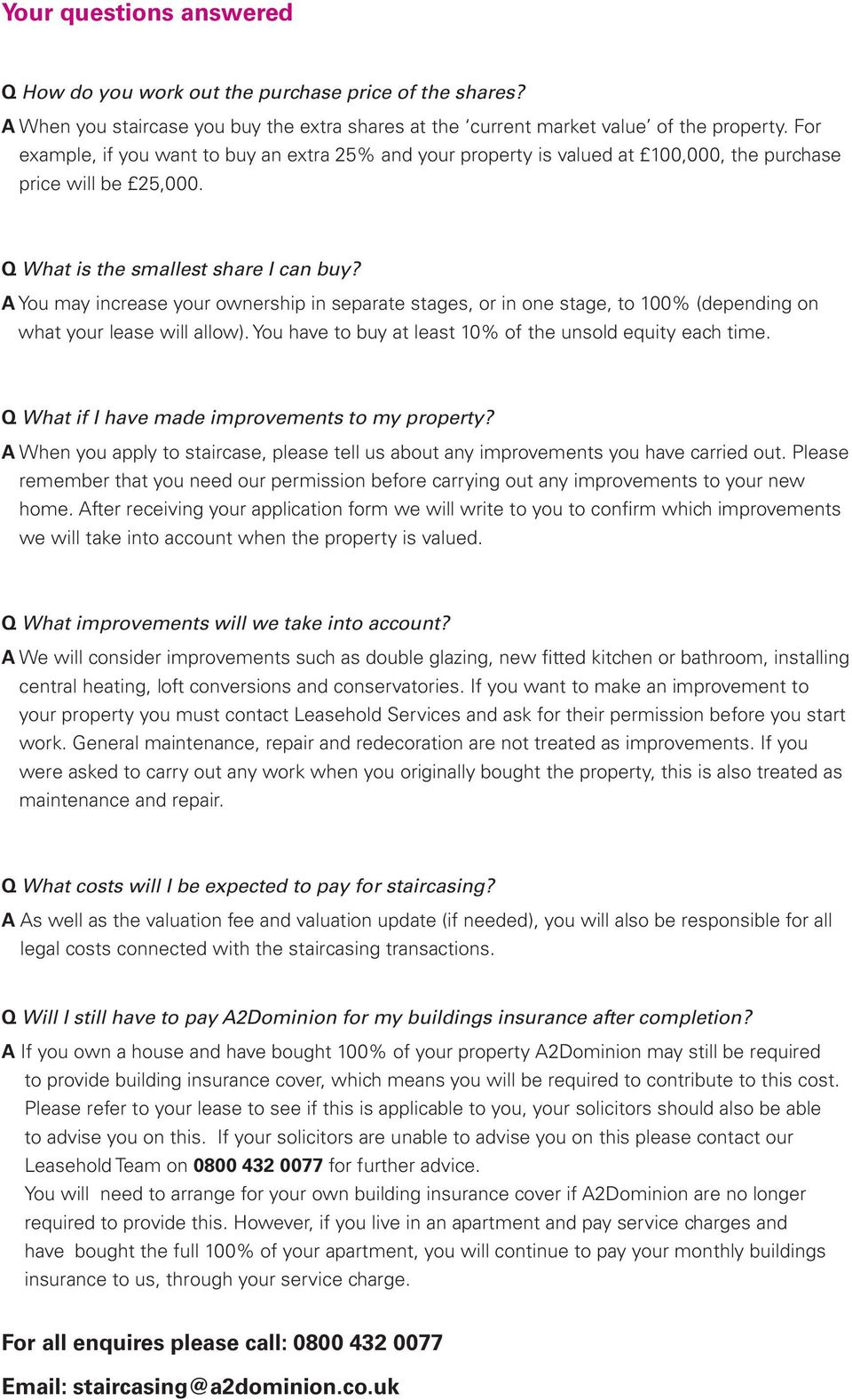 How to buy more shares in your home - PDF