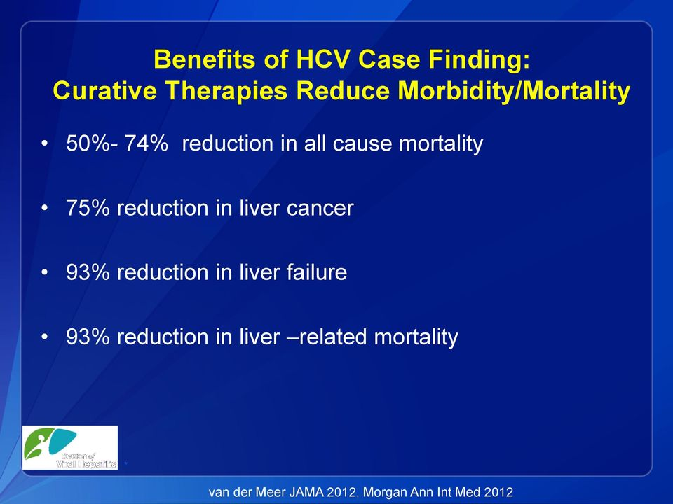 reduction in liver cancer 93% reduction in liver failure 93%