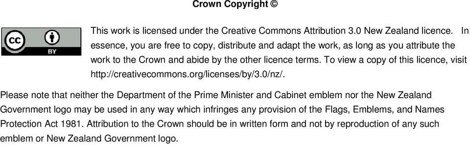 To view a copy of this licence, visit http://creativecommons.org/licenses/by/3.0/nz/.