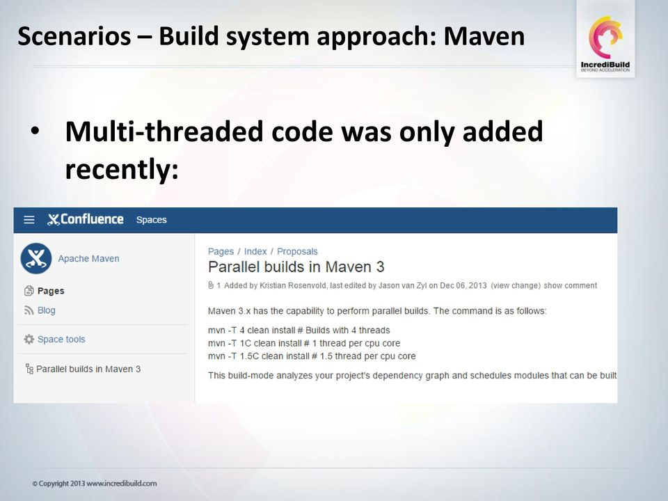 Maven Multi-threaded