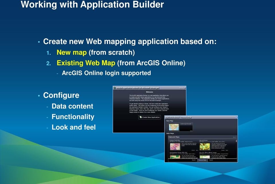 Existing Web Map (from ArcGIS Online) - ArcGIS Online