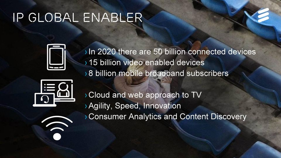 Cloud and web approach to TV Agility, Speed, Innovation Consumer