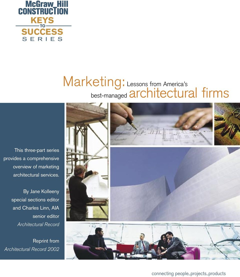 marketing architectural services.