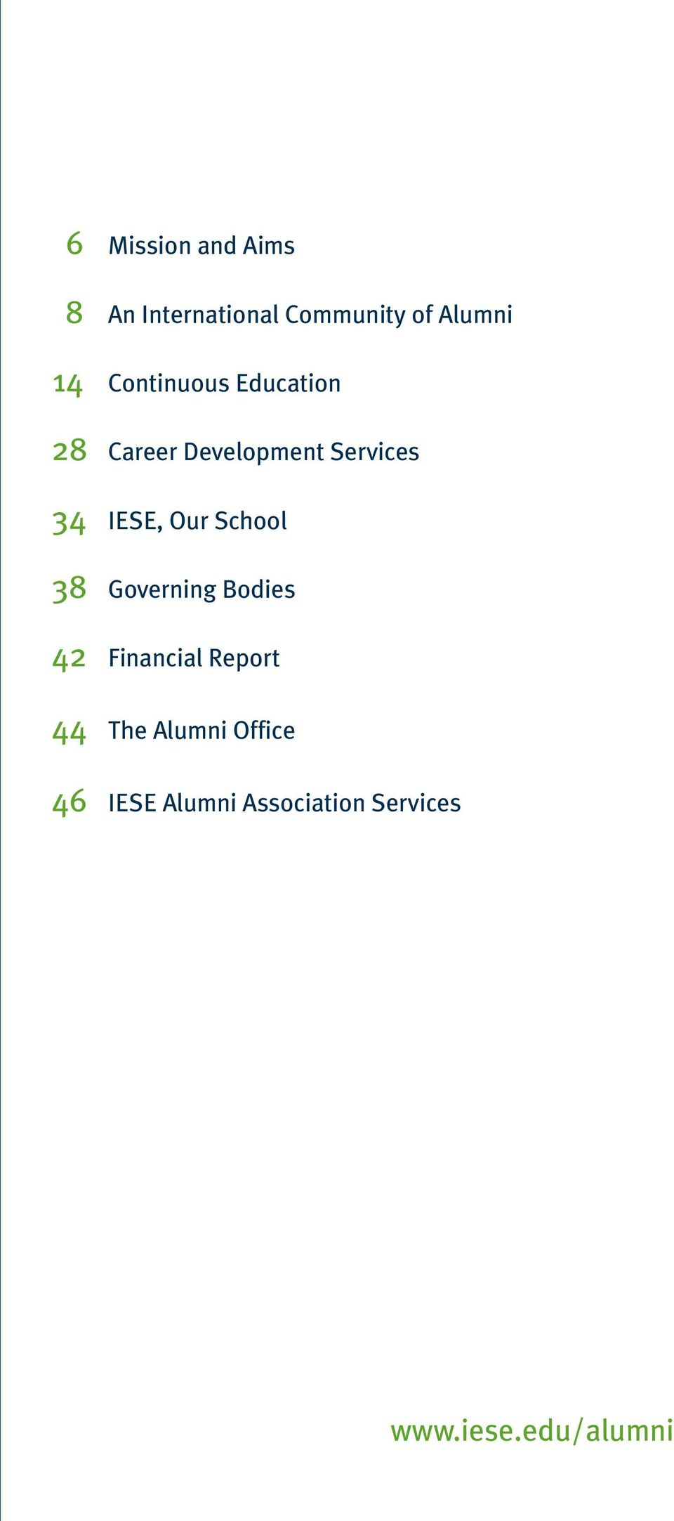 Our School 38 Governing Bodies 42 Financial Report 44 The