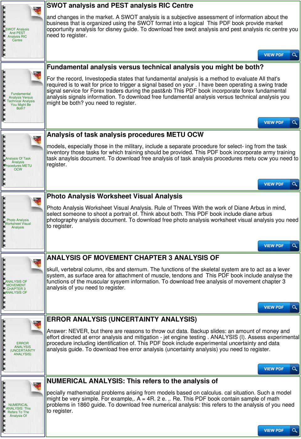 Awesome Swot Analysis Template Download Component - Examples ...