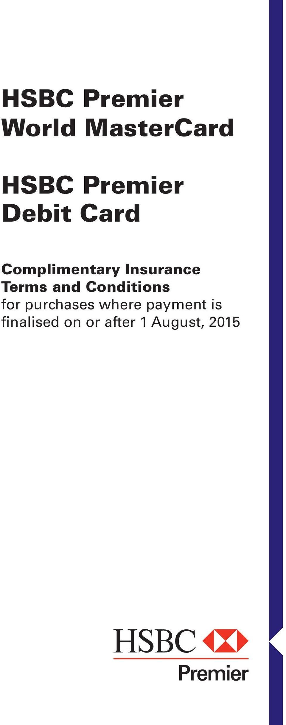 Insurance Terms and Conditions for