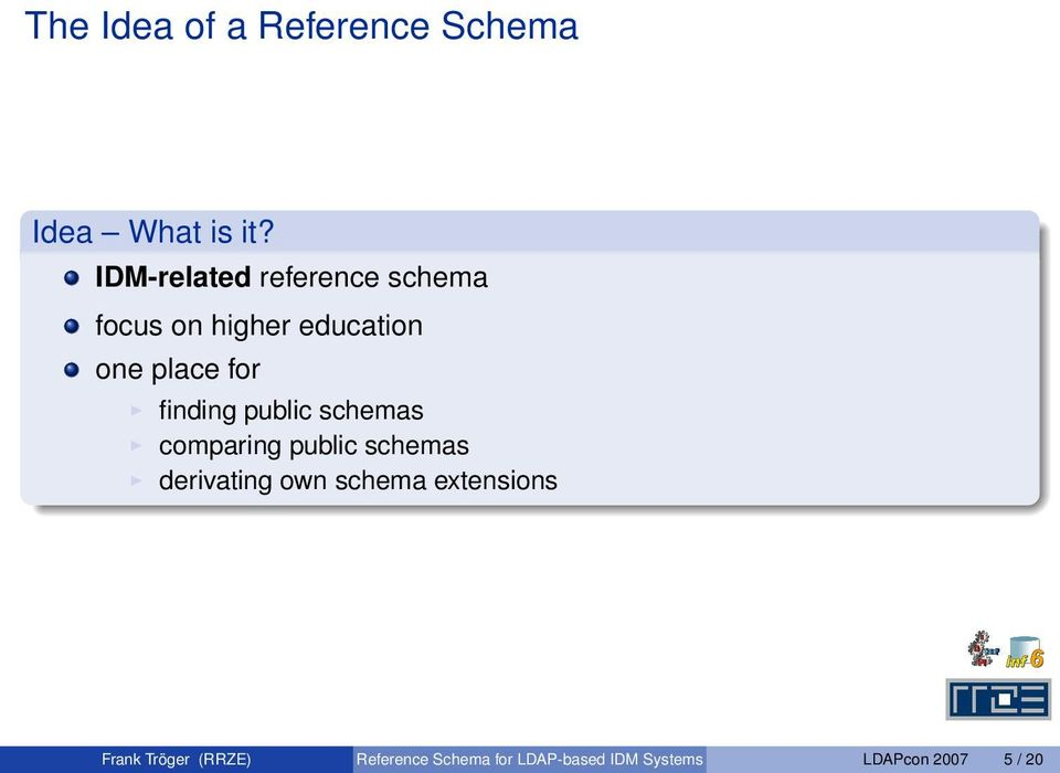 finding public schemas comparing public schemas derivating own schema
