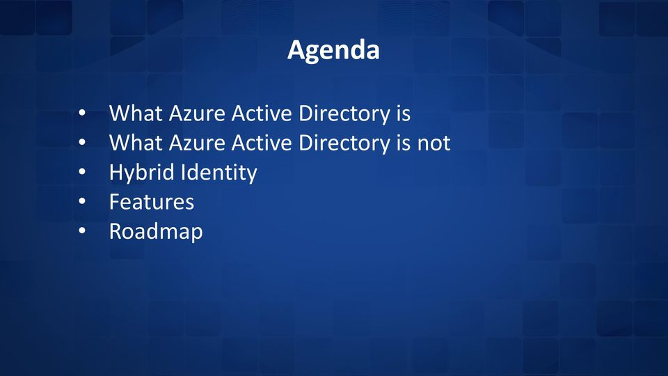 Active Directory is not
